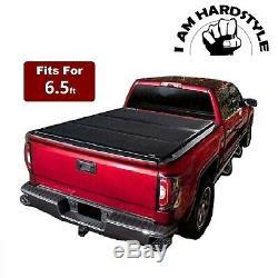 6.5FT Hard Tri-Fold Truck Bed Tonneau Cover For 1997-2004 Dodge Dakota Pickup