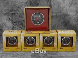 65 66 Mustang Billet Aluminum Adapter Panels with Auto Meter Designer Black Gauges