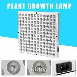 8000W 144LED Grow Light Panel Full Spectrum Plant Veg Lamp Flower Bloom US Plug
