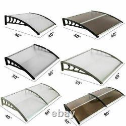 80x40 120 X40 Door Window Outdoor Awning Sheet Sun Shade Cover Canopy Patio