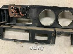 81 93 DODGE Ram D150 D250 D350 INSTRUMENT CLUSTER DASH BEZEL TRIM PANEL Oem