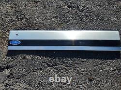 87-96 Aluminum Tailgate Trim Panel Moulding Bronco XLT Black Reflector