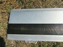 87-96 Ford F-150 F-250 F-350 Rear Tail Tailgate Finish Trim Panel Aluminum OEM