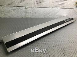 87-96 Ford F-150 F150 Tailgate Finish Trim Center Panel Aluminum Black Applique