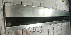87-96 Ford F150 F250 BRONCO Tailgate Trim REAR Panel Molding Reflector BLACK