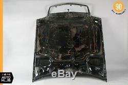 90-02 Mercedes R129 SL320 SL500 500SL SL600 Hood Cover Assembly Black OEM