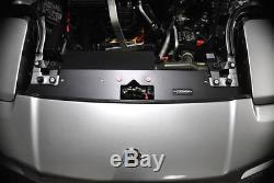 91-01 Acura NSX GT Aluminum Radiator Cooling Panel Custom BLACK COLOR