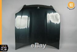 97-04 Mercedes R170 SLK320 SLK230 SLK32 AMG Hood Panel Assembly Black Opal OEM