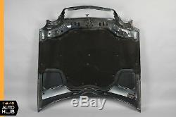 98-03 Mercedes W208 CLK320 CLK430 CLK55 AMG Hood Panel Assembly Black Opal OEM