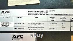 APC Maintenance Bypass Panel 10-15kVA 208V Wallmount BypassSwitch SBPSU10K15F-WP