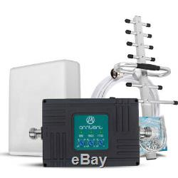 AT&T Verizon 2/3G 4G 700/850/1700/1900MHz Cell Phone Signal Booster GSM Repeater