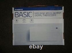 Adax Neo Modern Electric Panel Heater 600W Black