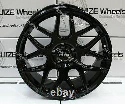 Alloy Wheels 18 CR1 For 2014 Renault Trafic Panel Van SWB LWB Bus 5x114 Black