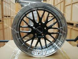 Alloy Wheels 18 LM For 2014 Renault Trafic Panel Van SWB LWB Bus 5x114 Black