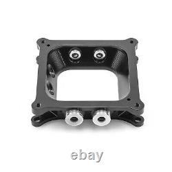 Aluminum 4150 to 4500 CNC Machined Carburetor Spacer with Burst Panel Check Valves