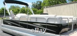 Aluminum Pontoon Fence Paneling- Black Gloss 24.5 X 60