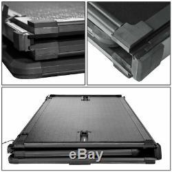 Aluminum Tonneau Hard Folding Cover 6.5 FT For Silverado Sierra 1500 2500 3500