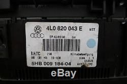 Audi Q7 4l Black Climate Control Panel 4l0820043e #r