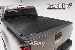 BAK BAKFlip G2 Aluminum Hard Folding Panel Tonneau Cover 5' Bed 26601