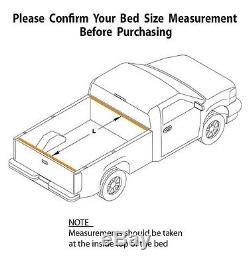 BAK BAKFlip G2 Aluminum Hard Folding Panel Tonneau Cover 6'1 Bed 26507