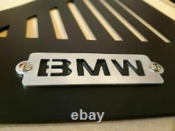 BMW K100-K75-K1100 side panels in matt black painted aluminum