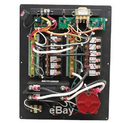 Bass 120 Vac 60Hz Black 11 X 14 Inch Aluminum Boat Ac Main Breaker Switch Panel
