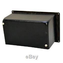 Bass Black 120Vac 60Hz Ac Power 10 X 6 In Aluminum Boat Breaker Switch Panel