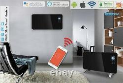 Berg Smart Wifi / Alexa Electric Heater Radiator Black / White 2000w Rrp £179