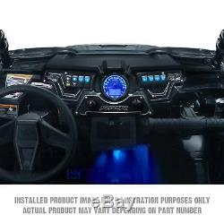 Billet 3pc Dash Switch Panel Plate Bezel Kit Polaris RZR S 1000 Stealth Black