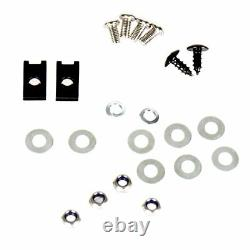 Black Aluminum Lower Door Panel Inserts For 15-19 RZR-S 900 XP 1000 Parts