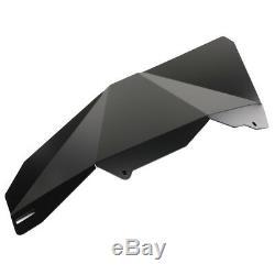 Black Aluminum Lower Door Panel Inserts For 2015-2019 RZR-S 900 XP 1000 Parts