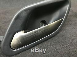 Bmw Oem E39 M5 Front Rear Titanium Aluminum Brushed Door Panel Handles Handle