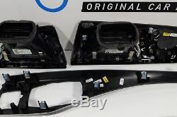 Bmw Trim ALUMINIUM Brush Decor Panel BLACK F23 Dekorblende 9227911