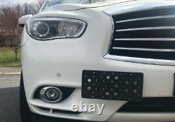 Bumper Tow Hook License Plate Mount Bracket For INFINITI QX60 2014 2020 New