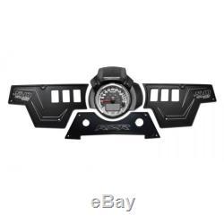 CNC Billet Aluminum Black Dash Panel Upgrade Kit fits 2015 Polaris RZR 900s