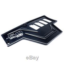CNC Billet Aluminum Dash Panel Left & Right Black Powdercoated fits RZR XP1000