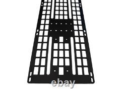 Cali Raised LED MOLLE Panel for Prinsu Roof Rack Black Semi Gloss