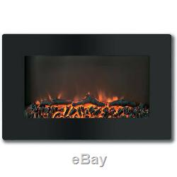 Cambridge Callisto 30 Wall-Mount Electronic Fireplace with Flat-Panel and Reali