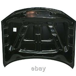 Capa Hood Panel Aluminum For 2011-2014 Chrysler 300 with Washer Nozzle Holes