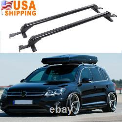 Car Top Roof Rack Cross Bars 43.3 Luggage Cargo Carrier with Lock For Volkswagen