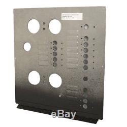 Carver 5765699 Black Textured 50Hz Aluminum Boat Ac Dual Control Panel