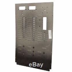 Carver 5765716-D 220V 50Hz Boat AC Control/Blank Breaker Panel Black Aluminum