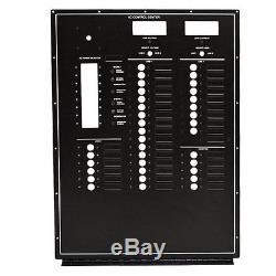 Carver 5765718 Black 220v 50hz Aluminum Boat Ac Control / Blank Breaker Panel