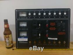 Chaparral Blk Aluminum Ac/dc Electrical Boat Breaker Switch Panel