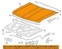 Chevrolet GM OEM 14-15 Silverado 1500-Hood Panel 23271756
