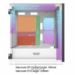 DarkFlash DLX21 MESH EATX Full Tower Gaming Computer PC Case Door Opening Panel