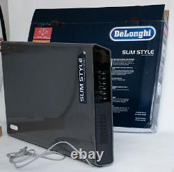 DeLonghi 1500W 3-Speed Wall Mount Convection Panel Heater Timer & Thermostat
