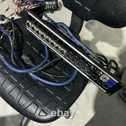 Ex-BBC Canford 16ch 2U XLR/Powercon/1/4 Jack Patch 19 Rack Panel VDC Van Damme
