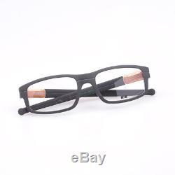 Eyeglass Frames-Oakley PANEL OX3153-0453 Black Bronze Aluminium Glasses Specs