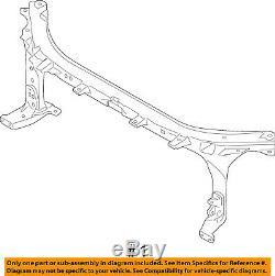 FORD OEM 15-16 F-150-Radiator Core Support Bracket Panel FL3Z16138A